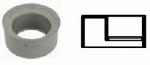PVC AFVOER INZETVERL.2/50X110