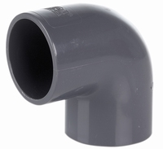 PVC KNIE 90GR 110MM