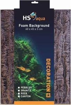 HS AQUA FOAM ACHTERWAND ROCK BROWN 60X45X3M
