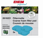EHEIM FILTERMAT BLAUW 2222/24