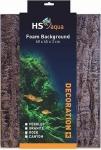 HS AQUA FOAM  ACHTERWAND CANYON BROWN 60X45X3CM