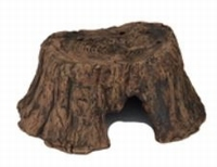 HS CERAMIC TREE STUMP S