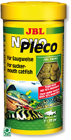 JBL NOVO PLECO 250ML WELS CHIPS
