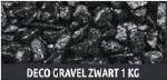 SF DECO GRAVEL BLACK 1KG
