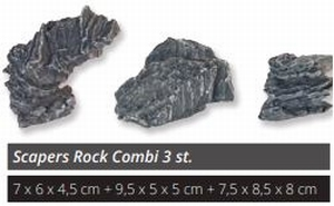 SF SCAPERS ROCK SMALL 3PCS COMBI PACK