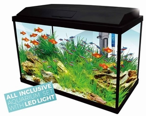 HS AQUARIUM PLATY 70  LED  59X31X39CM