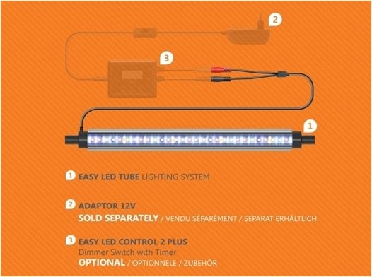 AQUATLANTIS EASY LED TUBE 895MM 20W