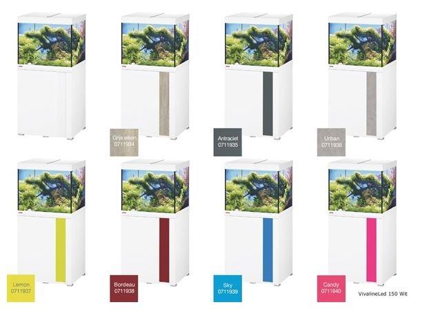 EHEIM VIVALINE 150 LED+  SET MET MEUBEL   div. kleuren
