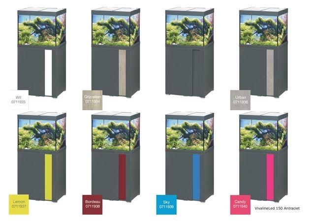 EHEIM VIVALINE 150 LED SET MET MEUBEL   div. kleuren