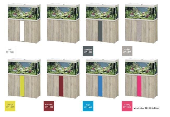 EHEIM VIVALINE 180 LED+ SET MET MEUBEL  div. kleuren