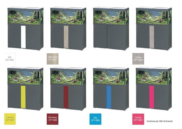 EHEIM VIVALINE 180 LED SET MET MEUBEL   div. kleuren