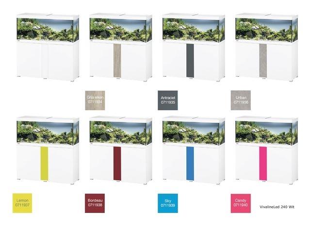 EHEIM VIVALINE 240 LED+  SET MET MEUBEL   div. kleuren