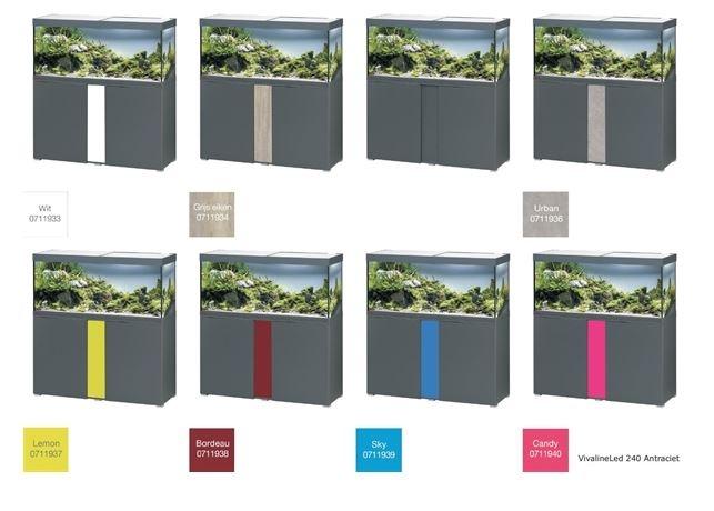 EHEIM VIVALINE 240 LED SET MET MEUBEL   div. kleuren