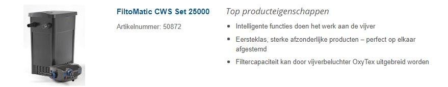 OASE FILTOMATIC SET 25000 CSW