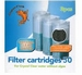 SF FILTER CARTRIDES CRYSTAL CLEAR 50 (3ST.)