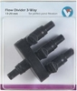 VT FLOW DIVIDER 3-WAY VERDEELSTUK MET KRANEN 13/20MM