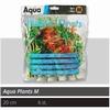 SF PLASTIC PLANTS M 6 STUKS CA 20CM